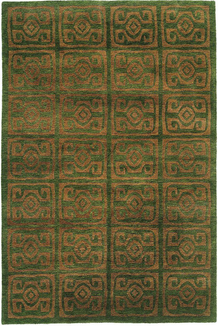 Maya Tibetan Rug from the Tibetan Rugs 1 collection at Modern Area Rugs