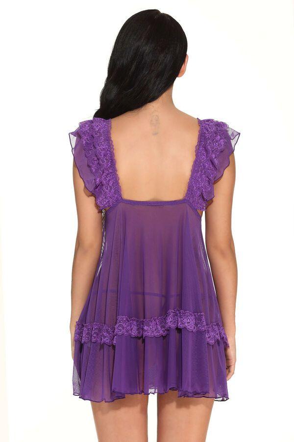 9c98489bb Plus Size Women Sexy Lace Princess Lingerie Sleepwear Chemies Underwear  Dress US Lace Princess Sexy