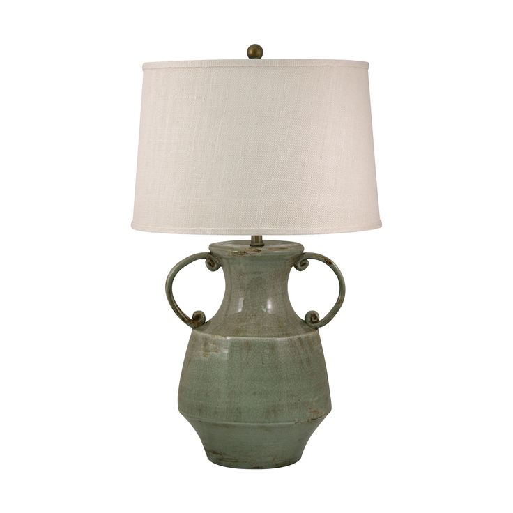 Add An Elegant Stylish Accent To Any Room With This Antiqued Porcelain Table Lamp In