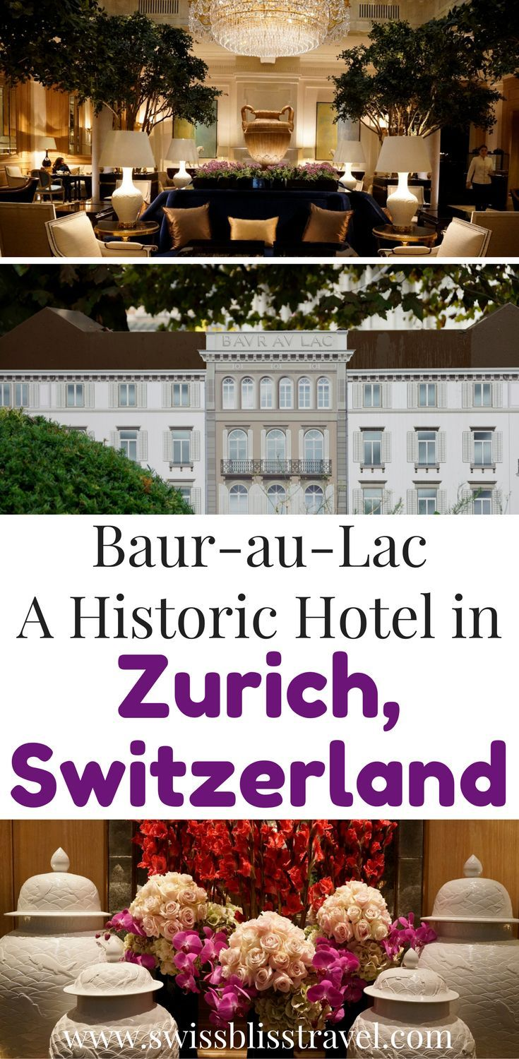 If So, You HAVE To Check Out The Baur Au Lac Hotel In Zurich Switzerland.  This Beautiful Luxury Hotel In Zurich Will Have ...