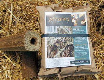 Straw logs