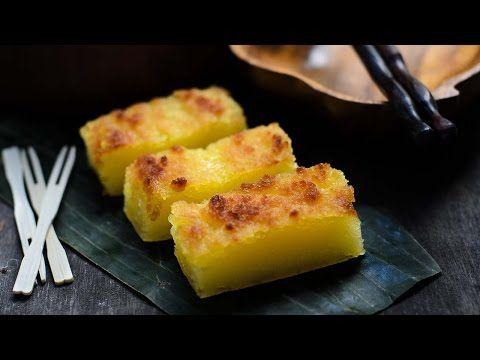 Tapioca Cake/ Bingka Ubi Kayu - Lisa's Lemony Kitchen