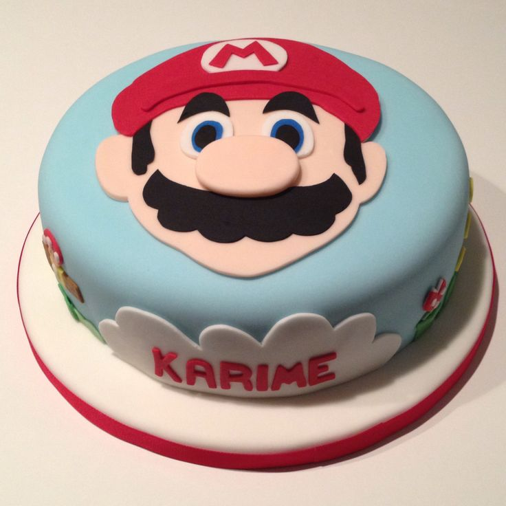 Mario Bros cake from Pikabu by Lesly Su - I made this cake for a 6 year old boy's bday