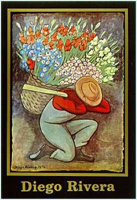 El Vendedor de Flores - Diego Rivera