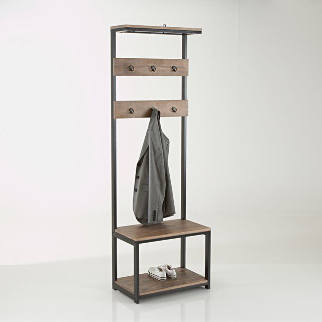 Ordinaire The Hiba Hall Stand Is A Practical Addition To Any Hallway With A  Contemporary Industrial Look