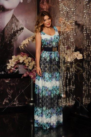 Rochie LaDonna Floral Lace Blue