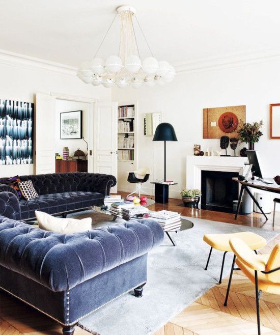17 Best Images About My Favorite Living Rooms On Pinterest Navy Sofa Blue