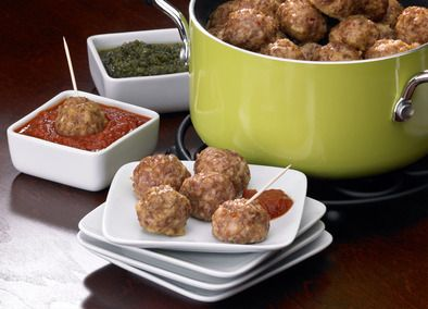 Johnsonville Classic Italian Meatballs  I used 24 oz of sausage and 8 oz of ground beef. Sauce was 1 btl of chili sauce, 1 can of jelliedcranberry sauce and abt 1/3 cup of apricot preserves