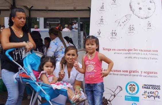 Gobernación de Risaralda invita a los padres de familia para que acudan con sus hijos a la jornada de vacunación masiva que se realizará este 27 de enero en todo el departamento