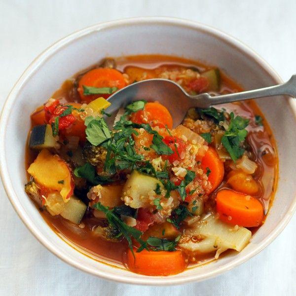 Grønnsakslapskaus med quinoa