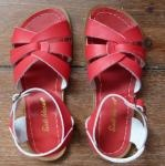 my summer saltwater originals...red and tan for me.
