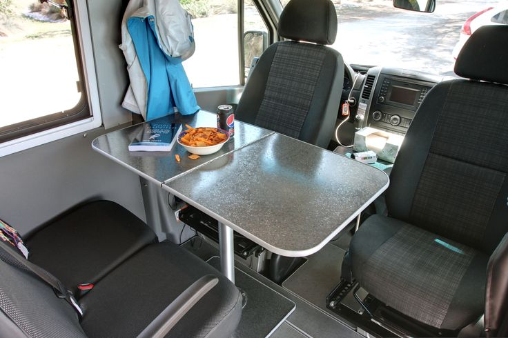 Safari Condo Sprinter Xl Flex Front Dining Area Seats 4