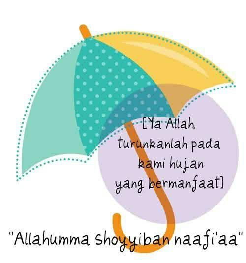 Doa turun hujan.