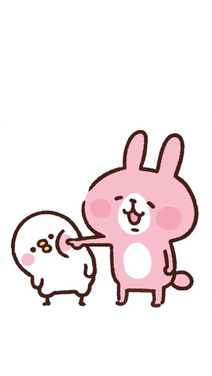 Cute Girl Wallpapers For Iphone Kanahei カナヘイ Wallpaper墙纸 卡通兔兔【喜欢请点进专辑】勿偷圖 Pisuke To