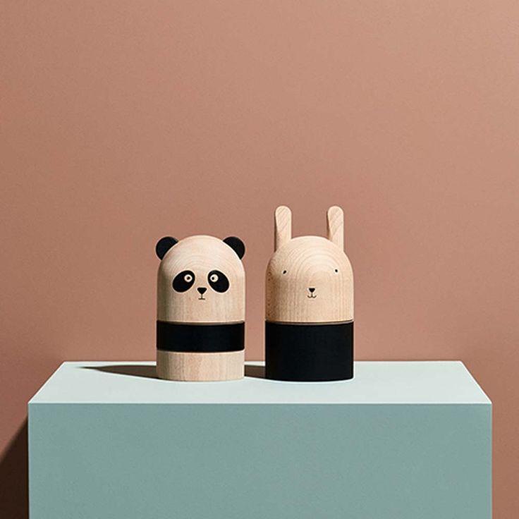 "OYOY ""Panda"" Spardose aus Holz ++ littlehipstar.com ++ 82.50 EUR"