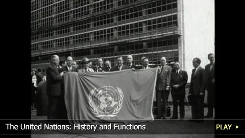 Founded in 1945, this international organization is committed to world peace and safety, as well economic development and social advancement. WatchMojo learns about the history and functions of the United Nations.