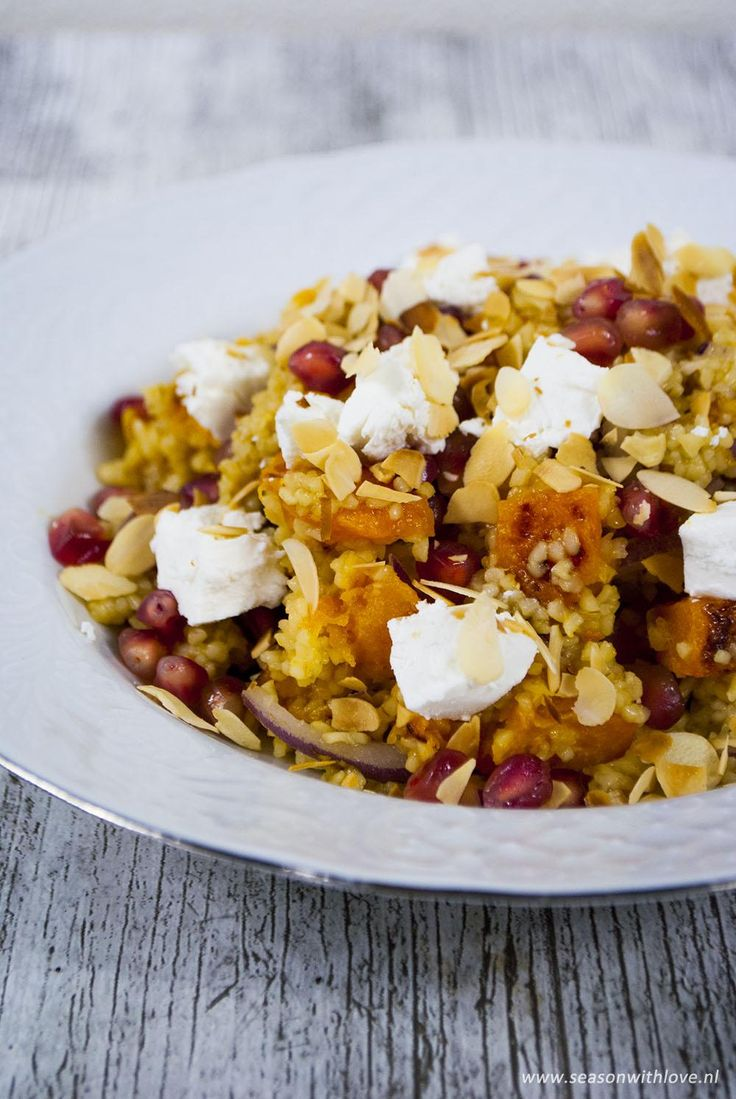 Bulgur pompoen salade - Season with love