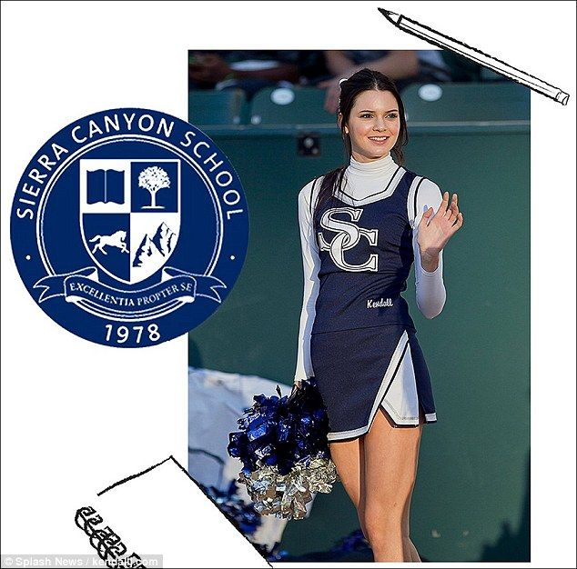 The good ole days: Kendall Jenner wrote about starting high school on her website kendallj.com on Thursday and shared a photo from when she was a cheerleader in 2011