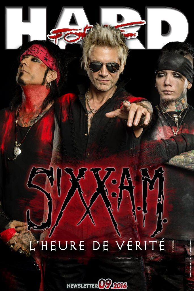 "Retrouvez Sixx:A.M. dans la HARD FORCE NEWSLETTER #09.2016 (interview filmée).  Interview avec Nikki Sixx & James Michael par Talia SOGHOMONIAN • Réalisée par Christian LAMET  ►Voir l'interview-vidéo sur METALXS ; http://www.hardforce.fr/metalxs/16190/interview-sixx-am-nikki-sixx-james-michael  Chronique de ""Prayers For The Damned Vol.1"" par Laurent Karila  ►A découvrir ici sur le site HARD FORCE ; http://www.hardforce.fr/actu/16119/sixx-a-m-no-prayers-for-the-damned-chronique"