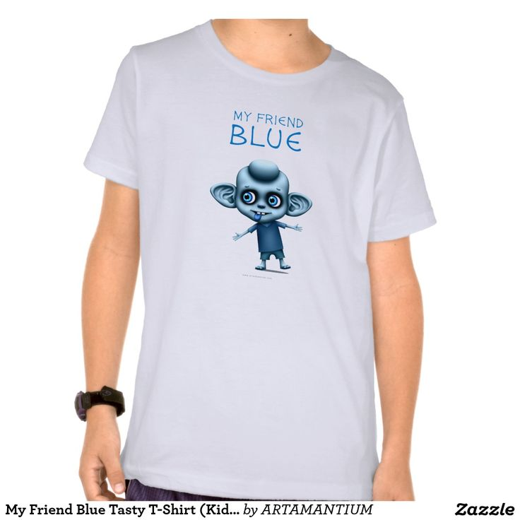 My Friend Blue Tasty T-Shirt (Kid's)
