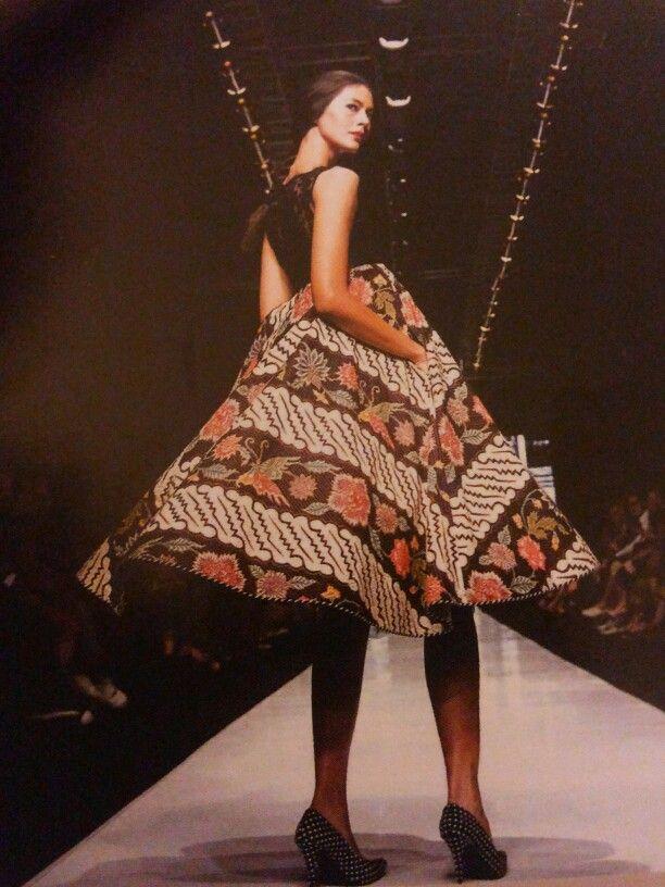Batik Dress by Edward Hutabarat-cool timeless style
