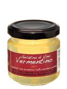 Great with cheese - Vermentino jelly. Wonder if we could get the winemakers to part with some grapes?