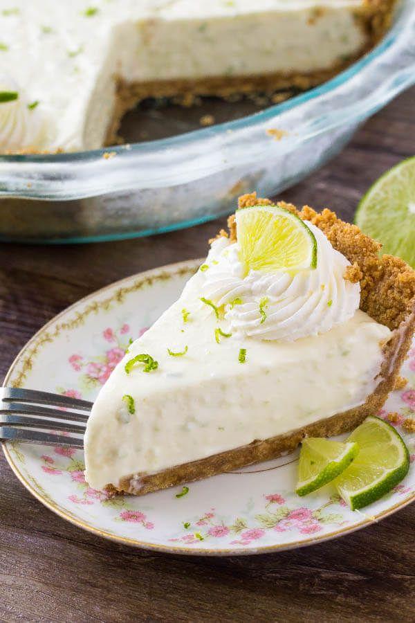 No Bake Key Lime Pie Recipe Key Lime Pie Easy Key Lime Pie Recipe No Bake Summer Dessert Recipes