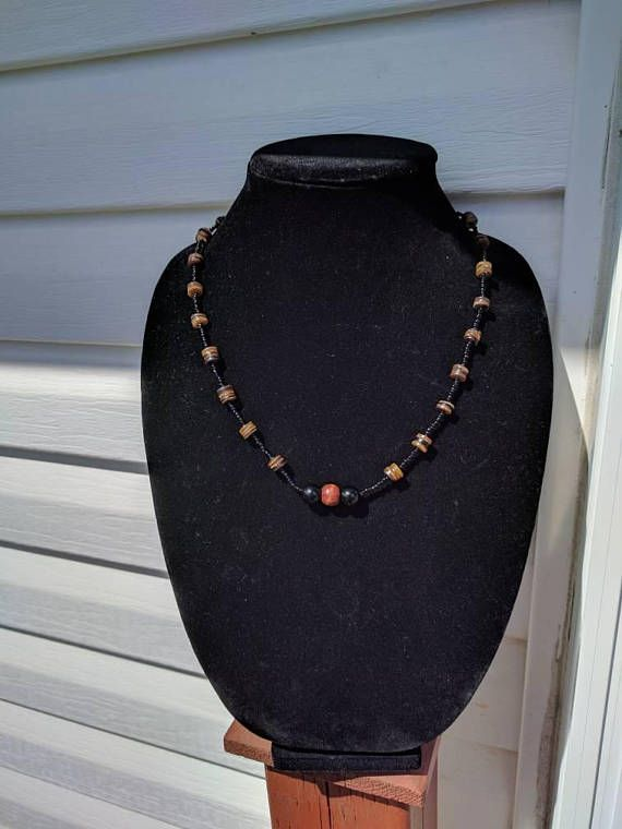 Hey, I found this really awesome Etsy listing at https://www.etsy.com/listing/550413711/wooden-beaded-necklaceshell-necklace