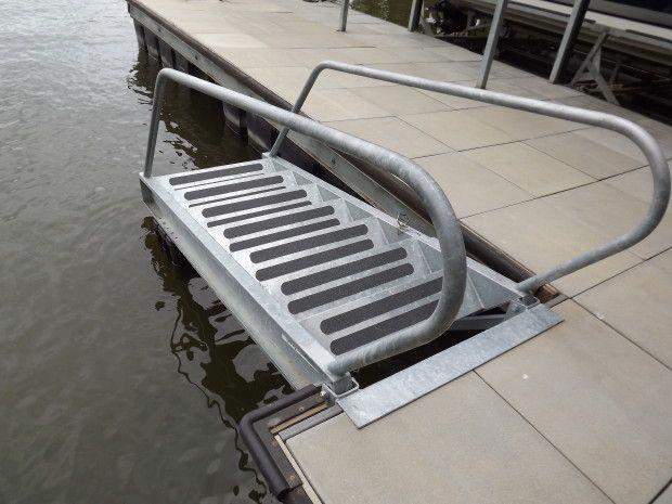 Dock-Steps   FIBERSTEEL Boat Lifts of the Lake of the Ozarks