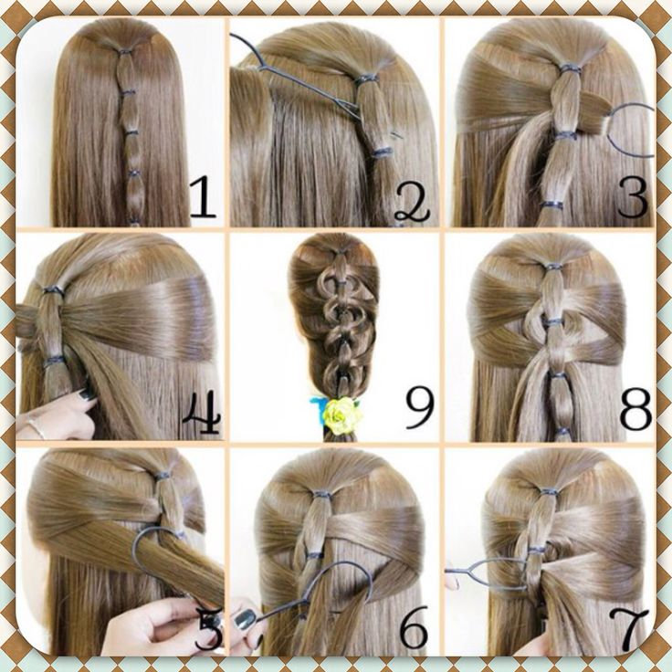 Tie and Pull Advanced Hairstyle Tutorial