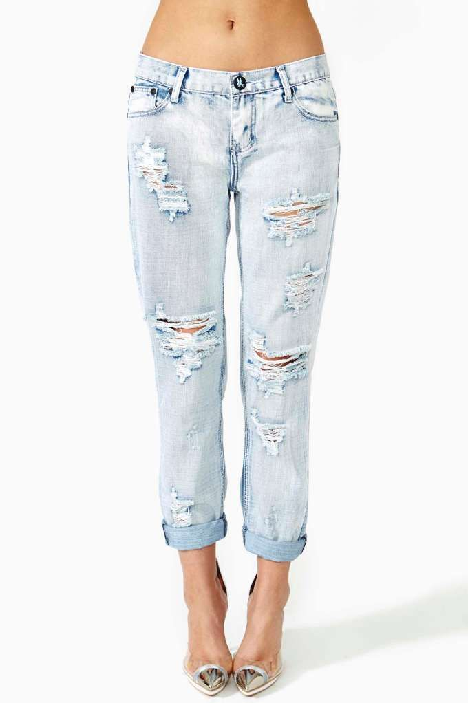 One Teaspoon Awesome Shredded Jeans... or just rip up from goodwill