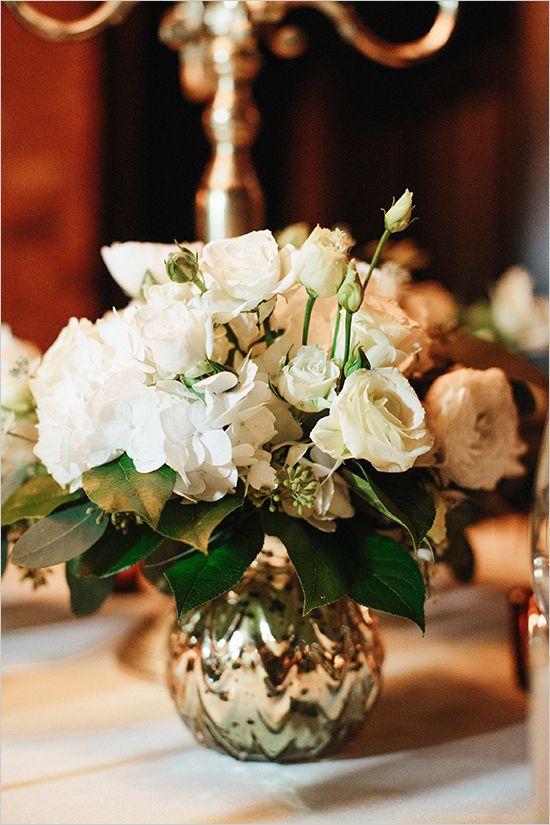 Ideas about white floral centerpieces on pinterest