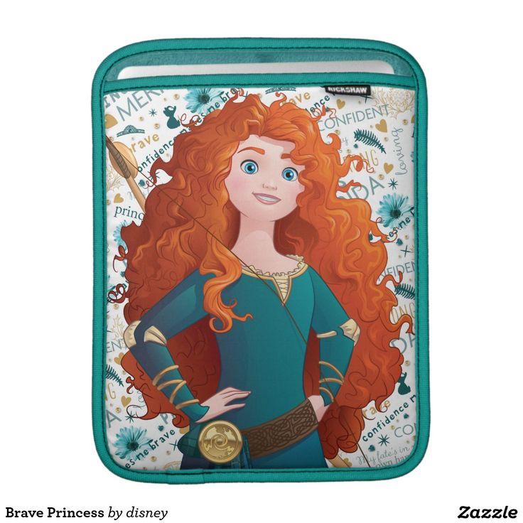 Brave Princess iPad Sleeve #funda #sleeve