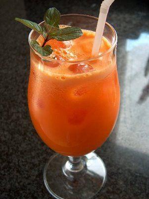 Suco de Cenoura, Maçã e Laranja