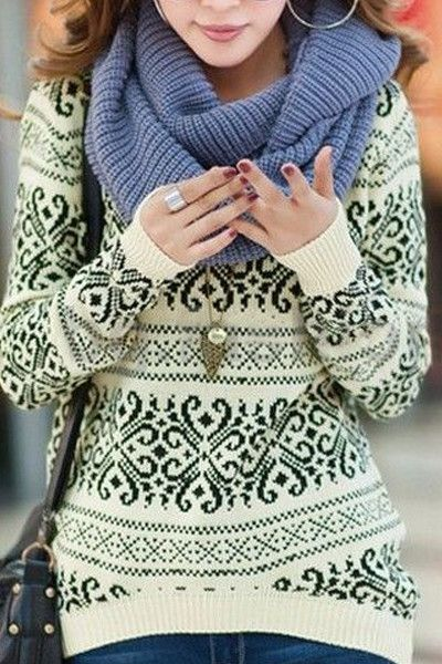 Winter Nordic Sweater