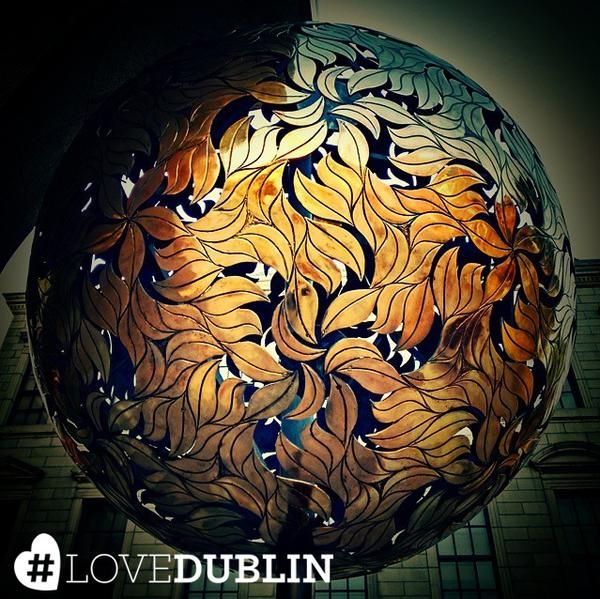 """Pots of gold in Dublin are rare but see if you can find the Crann an Oir """"The Golden Tree"""" just like @drhiralpatel! #LoveDublin #love #Dublin #vsco #vscocam #travel  #photoftheday #pic #picoftheday #ff #tip #ireland #photo #art #photography #artist #inspo #Ireland"""