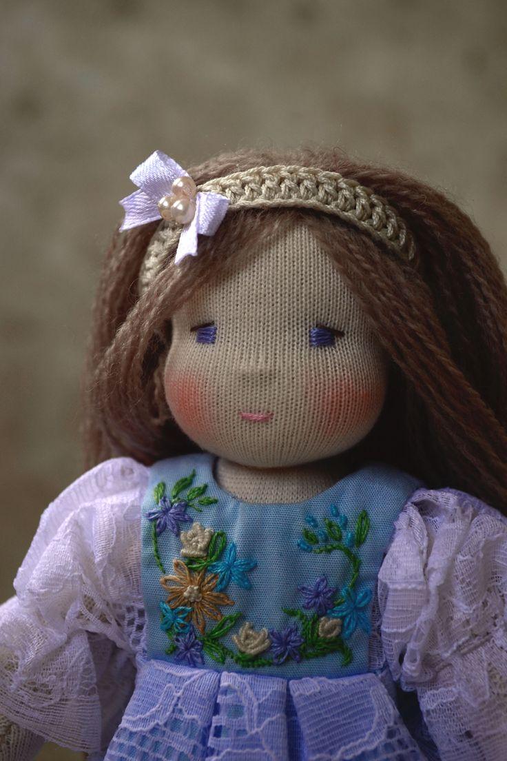 Настенька, вальдорфская кукла, waldorf doll.