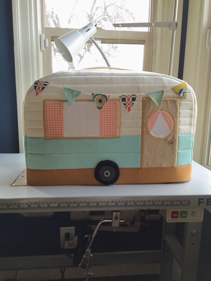 Vintage Caravan Sewing Machine Cover                                                                                                                                                                                 More
