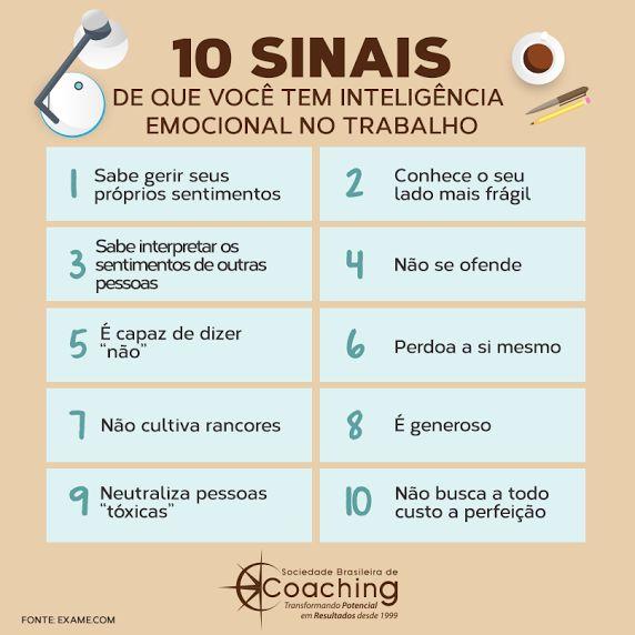 10 sinais de que você tem inteligência emocional no trabalho