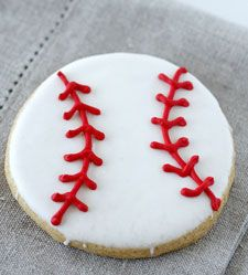 Quick Homemade Baby Shower Cakes | Baseball-Themed Dessert for a Baby Shower? Good Questions | The Kitchn