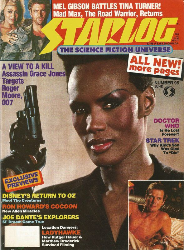 Starlog N 95 June 1985 Bond 007 A View To A Kill Grace Jones
