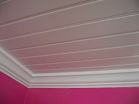 Putting up a bead board ceiling tutorial