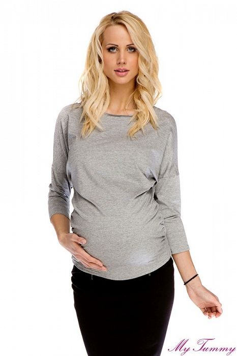 Těhotenská halenka Rachel - My Tummy - Luxusní, elegantní a praktické oblečení pro těhotné a kojící ženy