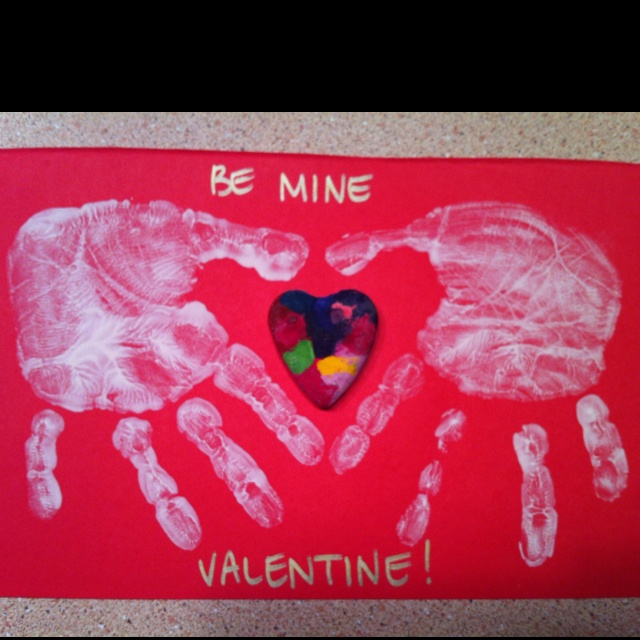 Allie 39 S Valentines For Her Pre K Class Those Are Marbled