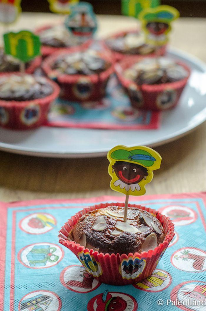 Sinterklaas goes Paleo: Speculaas Muffins met Amandelspijs
