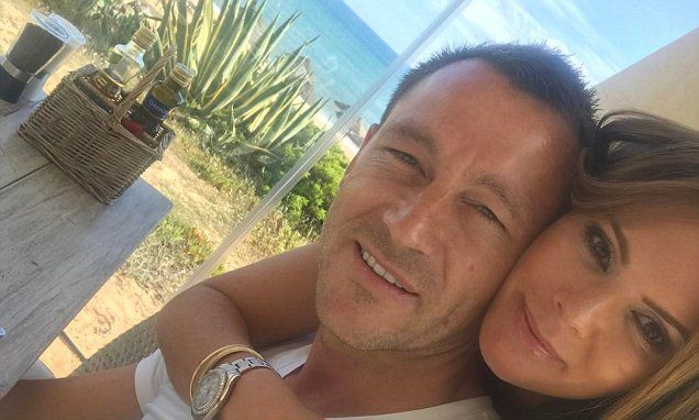 John Terry enjoys short holiday in Portugal with wife Toni