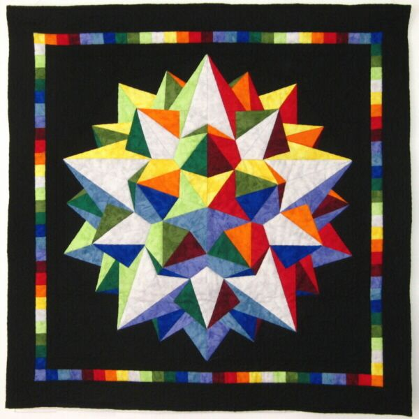 Best 81 Optical Illusion Quilts Images On Pinterest Diy