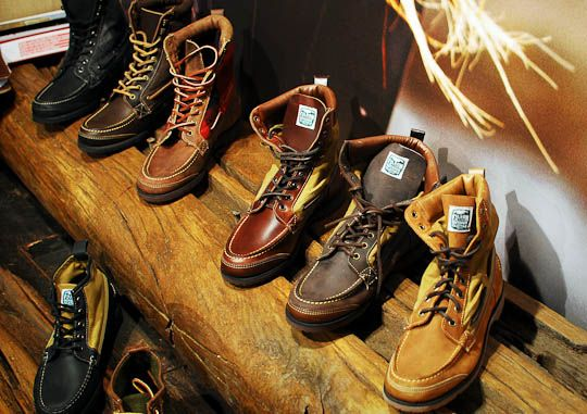 42edb8437f9 Sebago x Filson x Woolrich Boots Fall/Winter 2012 | looking good ...