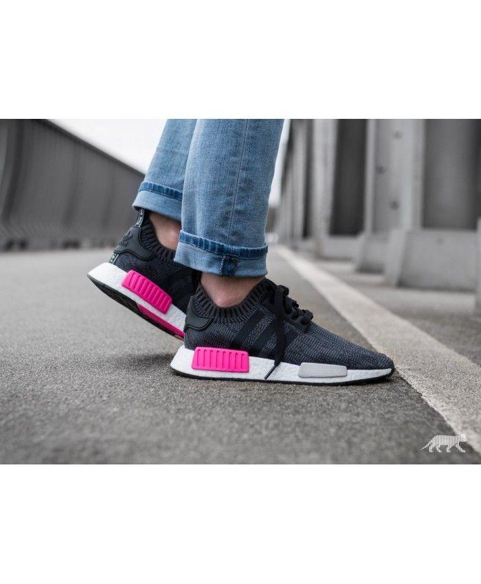 82369cb48c2c9 Adidas Nmd R1 W Pk Core Black Core Black Shock Pink sale uk