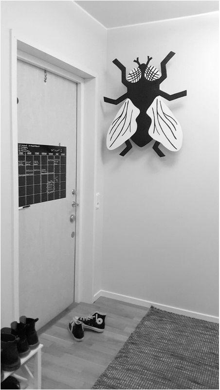 Shedule on the door simple scandinavian heltenkeltkomplicerat Picture